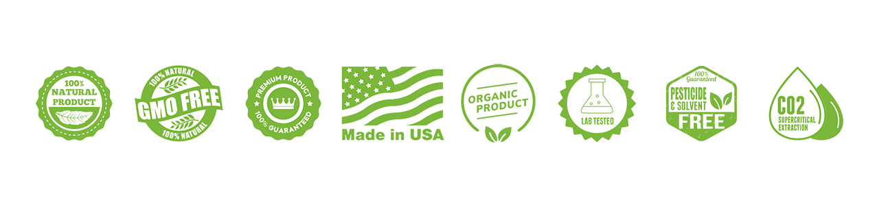 CBD American Shaman of Midlothian organic banner