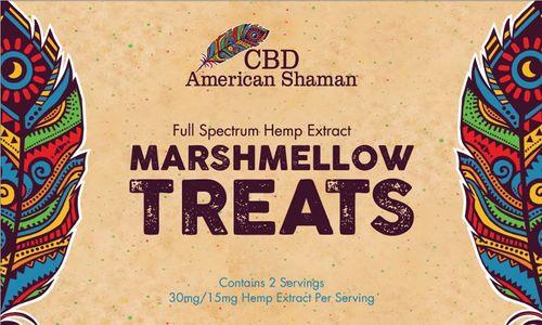 CBD American Shaman of Midlothian Marshmellow Treat